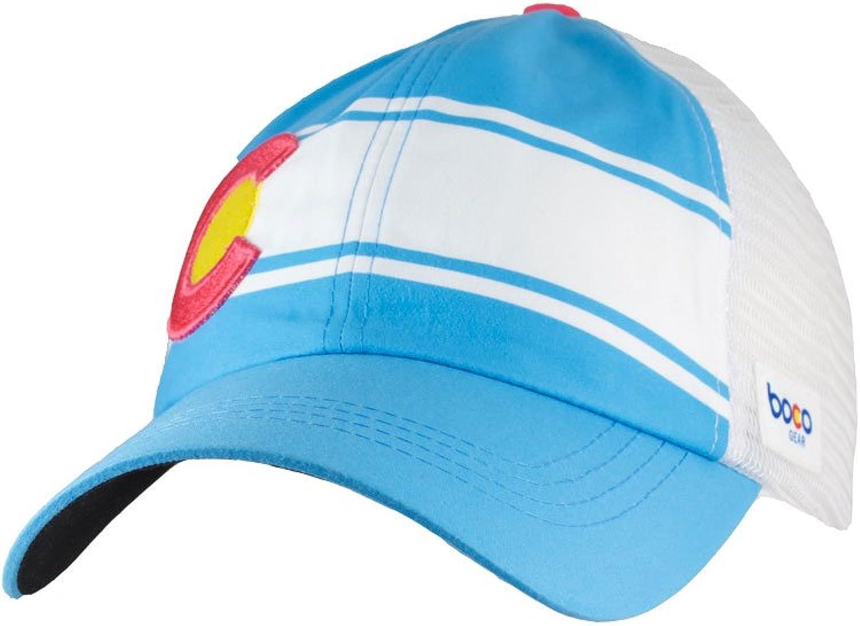 BOCO Gear Women's Technical Trucker Hat  colorado Light bluee  Relaxed Fit