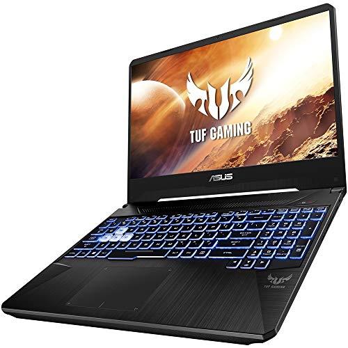 "ASUS TUF Gaming Laptop, 15.6"" Full HD IPS-Type, AMD Ryzen 7 R7-3750H, GeForce GTX 1650, 8GB DDR4, 256GB PCIe SSD + 1TB HDD, Gigabit Wi-Fi 5, Windows 10 Home, TUF505DT-RB73"