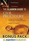 The Glannon Guide To Civil Procedure 2e Studydesk Bonus Pack