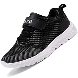 50%OFF Foobrues Kids Sneakers Boys Girls Running Shoes Lightweight Breathable Walking Athletic Tennis Shoes