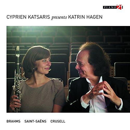 Cyprien Katsaris, Katrina Hagen - Works For Clarinet & Piano