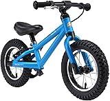 BIKESTAR Bicicleta sin Pedales para niños y niñas 3-4 años | Bici con Ruedas de 12' Edición Bici de montaña | Azul