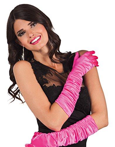 Boland 03143 - Handschuhe Hollywood, Einheitsgröße, pink