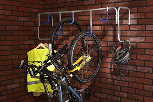 Mottez, Supporto da Parete per 5 Biciclette