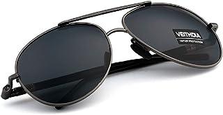 نظارات شمسية من فيثيدا باطار فضي V1306