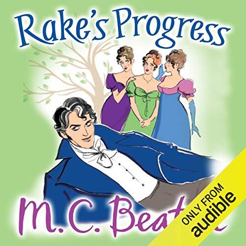 Rake's Progress Audiobook By M. C. Beaton cover art