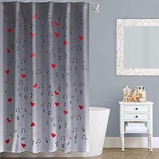 Right Canvas Grey 180cm x 200cm Shower Curtain - RG138NPIC00074
