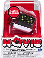 HAND GESTURE CONTROL: Get hands-on interaction with Novie! Using hand-tracking technology, you can control Novie with specific hand gestures. Wave your hand left or right, up and down, toward him, and around him to see how this quirky toy robot react...