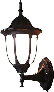 LifeX American Rustic Black Sconce Antique Lámpara de Pared de Hierro Forjado Loft Pasillo Pasillo Iluminación de Pared Restaurante Luces de Pared Metal E27 Base Base Accesorio para Cafe Bar