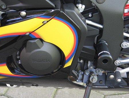 Preisvergleich Produktbild Satz GSG Moto Sturzpads Motordeckelschutz Yamaha YZF-R6 RJ05 RJ09 03-05