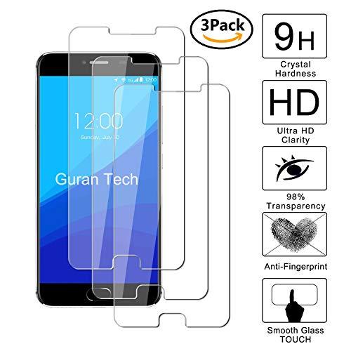 Guran [3 Pezzi] Pellicola Protettiva per UMIDIGI Z/UMIDIGI Z PRO Smartphone Ultra Sottile Screen Protector in Vetro Temperato Film Ultra Resistente