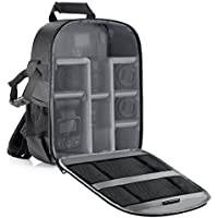 Neewer Shockproof Padded Camera Backpack with Flexible Partitions