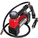 SuperFlow Portable Air Pump, 12 volt Air Compressor, Tire Inflator 140 PSI, 12v air compressor for...