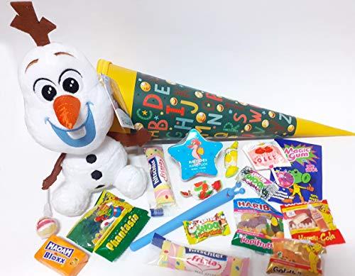 Geschenkpost24 101690 gefüllte Schultüte Frozen Olaf 35cm mit Plüschtier Die Schneekönigin