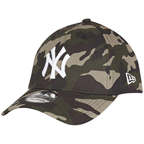 New Era 39Thirty Flexfit Cap - NY Yankees Wood camo - M/L