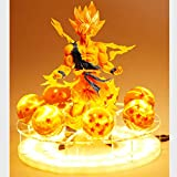 Dragon Ball Z Son Goku Led Licht Lampe Geist Bombe Figuren Anime Dragon Ball Z Goku Super Saiyajin...