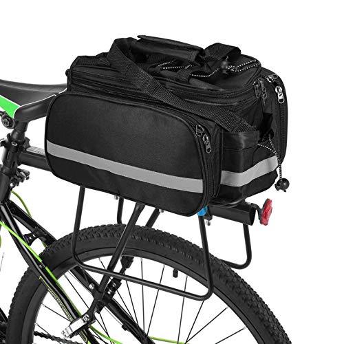 Lixada Alforja Bicicleta Bolsa de Sillín Ciclismo Tronco Pack Bolsa de Transporte...