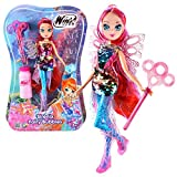 Winx Club Bloom | Sirenix Fairy Bubbles Puppe Fee 28 cm | Seifenblasen Magie