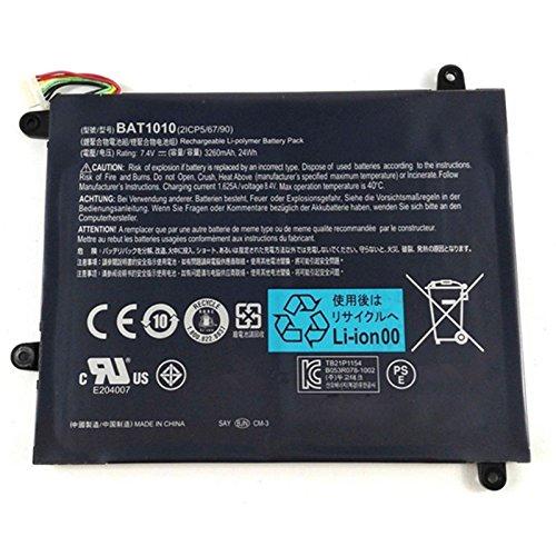 BAT-1010 Laptop Battery for Acer Iconia Tablet A500 A501 A500-10S32u A500-10S16u BAT1010 BAT 1010 Tablet(7.4V 3260mAh 24Wh)