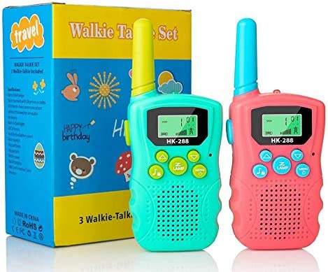 Walkie Talkies for Kids 22 Channels 2 Way Radio 3km Long Range VOX Talking with Flashlight Kids product image