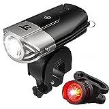 自転車ライト テールライト付 TaoTronics USB充電式 ヘッドライト 700ルーメン LED IP65防水 TT-HP007