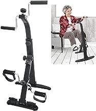 Exercise Bike Arm and Leg Exerciser - Arm & Leg Exercise Peddler Machine - Portable Pedal Exerciser - Fitness Equipment for Seniors and Elderly - Pedal Exercise Bike