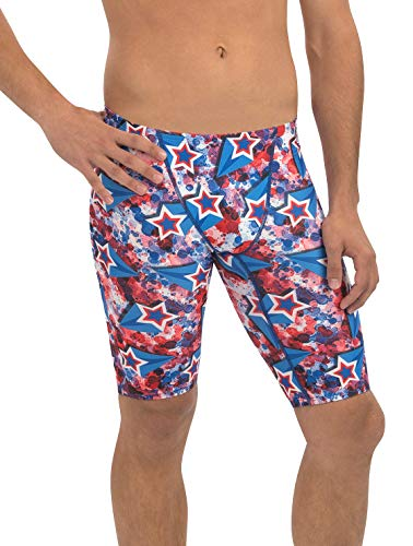 Dolfin Men's Uglies Prints Jammer Swimsuit (Liberty, 30)