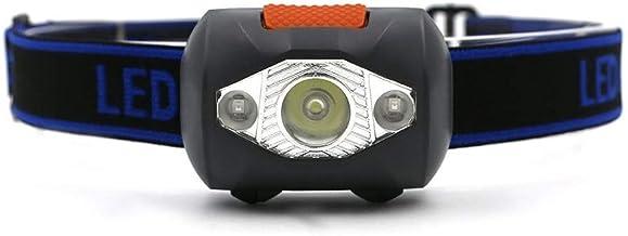 Portable Headlights 800 lumens LED Four Mode Small Headlights Outdoor Waterproof Flash Torch Light Hunting Flashlight, Usi...