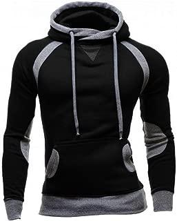 Hoodies, Men's Fall Winter Cowl Neck Casual Slim Sweatshirt Hoodie Pocket Pullover Outwear
