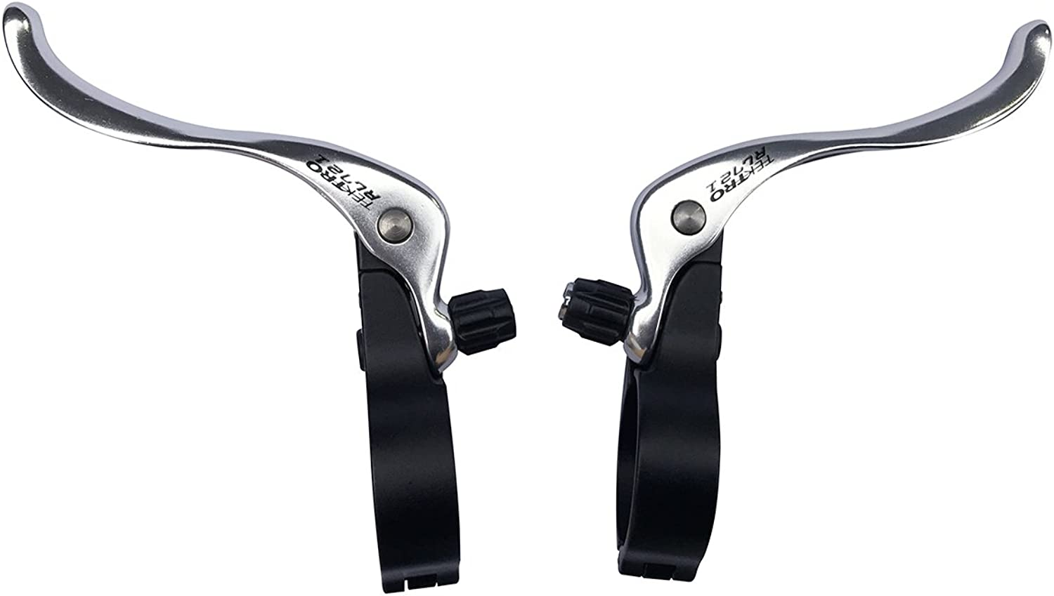 Tektro RL721 Cyclo Cross Top Mount Bicycle Brake Levers Silver 31.8MM