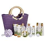 Bad Geschenkset Für Frauen, SPA LUXETIQUE Lavendel 10-teiliges Luxurlöse Badeset Für Sie,...