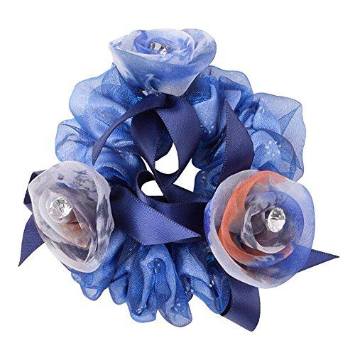 Beaux cheveux élastiques Cheveux Cravates Ponytail Holder filles accessoires pour cheveux, A