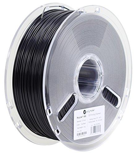 3Dプリンタ―用フィラメント PolyLite ABS 1.75mm径 1kg巻 ブラック