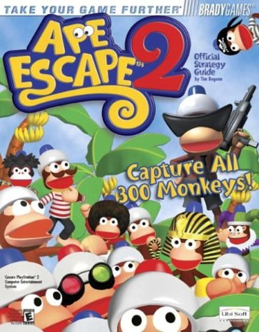 Ape Escape(TM) 2 Official Strategy Guide (Brady Games)