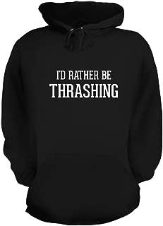 BH Cool Designs I'd Rather Be Thrashing - Graphic Hoodie Sweatshirt