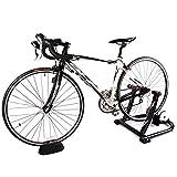 Bicicleta Turbo Trainer, Soporte para entrenador de bicicletas para montar en interiores Resistencia a líquidos silenciosa Plataforma de resistencia para estaciones de carretera Se adapta a biciclet