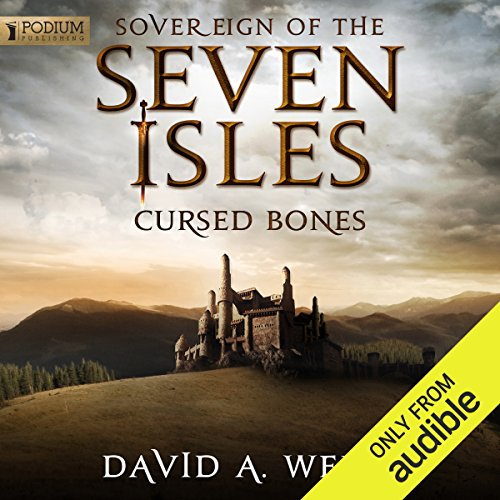 Cursed Bones audiobook cover art