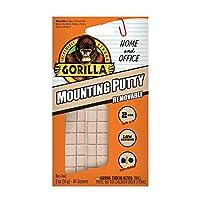 Gorilla リムーバブルマウントパテ 84 プレカットスクエア オフホワイト (1パック)