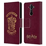 Head Case Designs Officiel Harry Potter Gryffindor Quidditch Deathly Hallows X Coque en Cuir à...