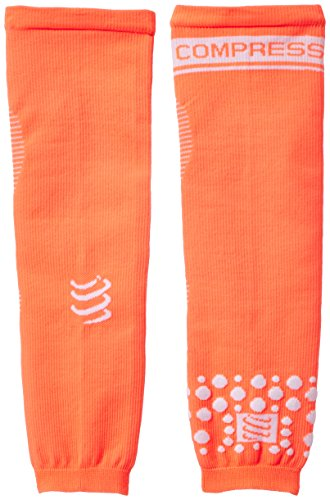 COMPRESSPORT Armforce Manicotti Compressivi da Gara, Arancione (Fluo Orange), 2
