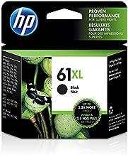 HP 61XL | Ink Cartridge | Black | Works with HP DeskJet 1000 1500 2050 2500 3000 3500 Series, HP ENVY 4500 5500 Series, HP OfficeJet 2600 4600 Series | CH563WN