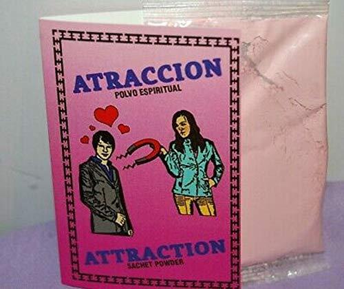 POLVO ESPIRITUAL LOVE ATTRACTION ATRACCION De AMOR POWDER - 1/2 oz pkt .