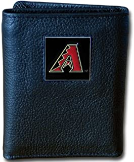 Siskiyou MLB Leather Tri-fold Wallet