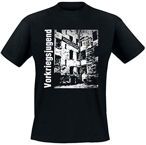 Vorkriegsjugend T-Shirt, schwarz, Grösse M