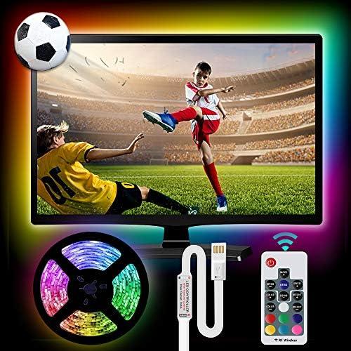 Led Strip Lights Vansky Bias Lighting for 40 80 inch HDTV 14 3ft RGB USB Powered LED Light Strip product image