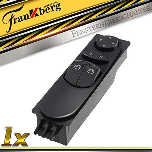 Power Master Fensterheber Schalter Vorne Links für Viano Vito Bus Vito/Mixto Kasten W639 7-polig 2003-2014 A6395450913