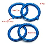 ATIE PoolSupplyTown Front Tire and Rear Tire Combo Kit Replacement for The...