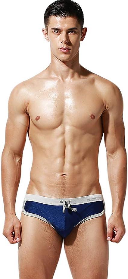 Lantra Besa Herren Badehose Thong G String Bikini Bottom Slip f/ür Sommer Schwimmen MEHRWEG Typ 2 28 48 123 und 124