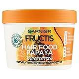 Maschera per capelli 3 in 1 con 98% ingredienti di origine naturale Ingrediente principale: papaya per riparare i capelli danneggiati Tripla azione: 1. Balsamo per districare i capelli senza appesantirli; 2. maschera per nutrirli intensamente; 3. tra...