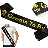 Groom Sash Bachelor Party Stag Night Engagement Celebration Supplies Favors, Wedding Gift from